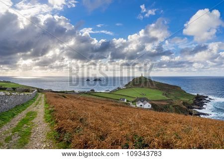 Cape Cornwall England Uk