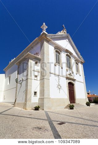 Church of Albufeira in Algarve, south of Portugal
