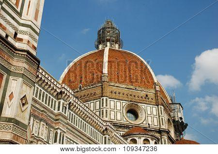 The dome of the Basilica di Santa Maria del Fiore