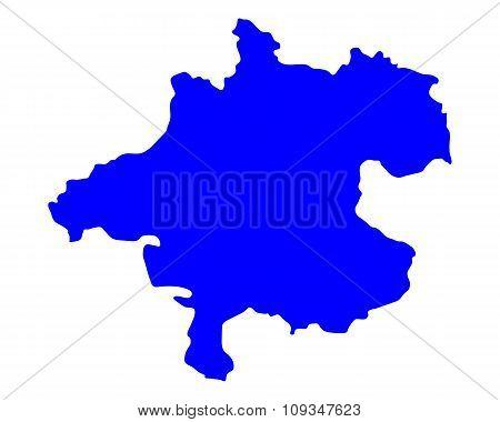 Map Of Upper Austria