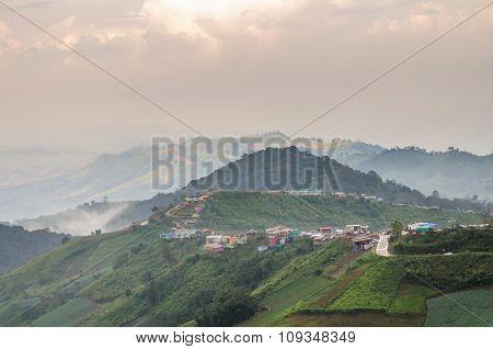 Mountain View At Phu Thap Boek, Phetchabun, Thailand