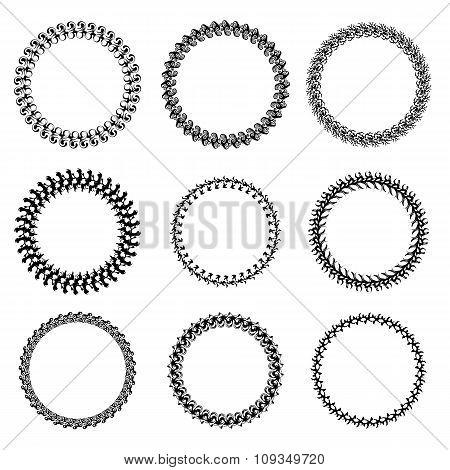 Set Circle Frames