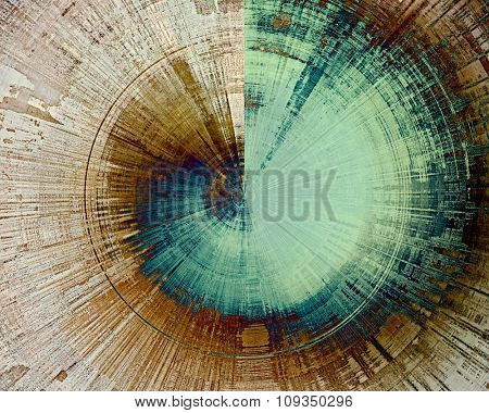 Designed background in grunge style. With different color patterns: brown; green; blue; gray