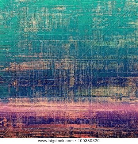 Old Texture. With different color patterns: blue; purple (violet); pink; cyan
