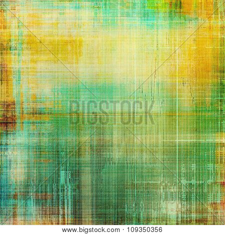 Vintage old texture for background. With different color patterns: yellow (beige); brown; green; blue