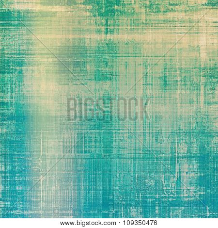 Grunge colorful background or old texture for creative design work. With different color patterns: yellow (beige); green; blue; cyan