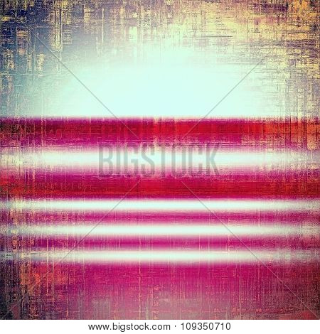 Designed background in grunge style. With different color patterns: brown; red (orange); pink; cyan
