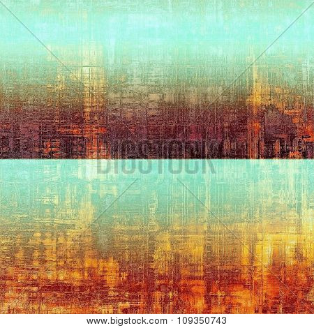 Old Texture or Background. With different color patterns: yellow (beige); blue; purple (violet); red (orange)