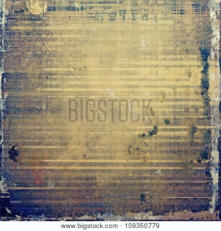 Grunge background or texture for your design. With different color patterns: yellow (beige); brown; purple (violet); gray