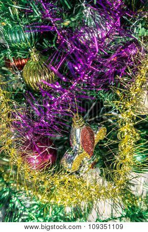 Colorful christmas decoration.