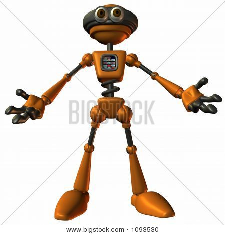 Toon Bot Sparky-Open Arms