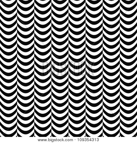 Seamless black white curtain pattern
