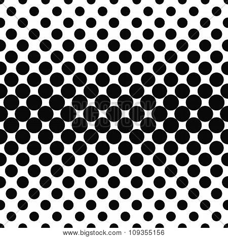 Repeating black white dot pattern