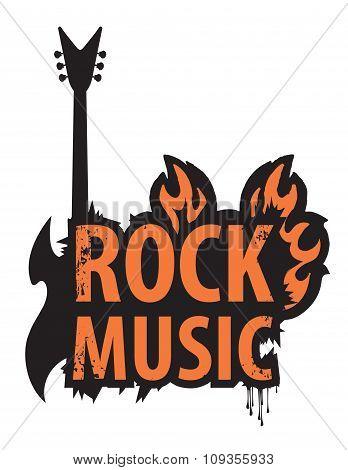 Inscription Of Rock Music