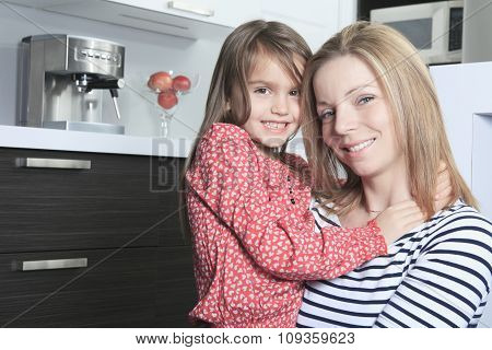 A Mother daughter kitchen