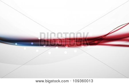 3d colorful wave line, abstract background with light and shadow effects. Wavy pattern, layout