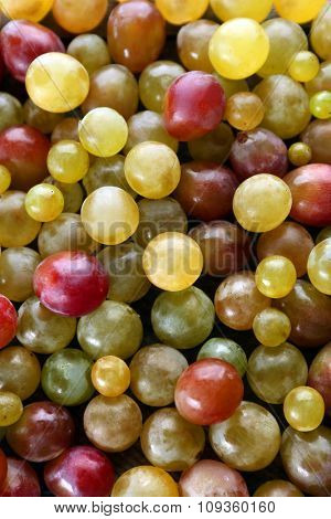 Background of juicy grapes berries, close-up