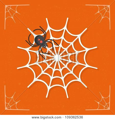 Spiderweb / Cobweb icon vector