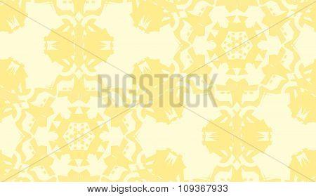 Yellow Seamless Doily