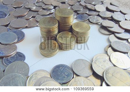 Coins texture