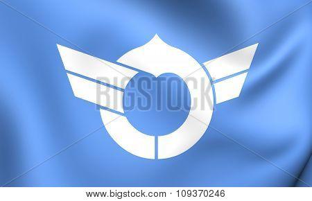 Flag Of Shiga Prefecture, Japan.