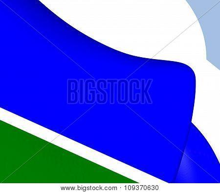 Flag Of Sverdlovsk Oblast, Russia.