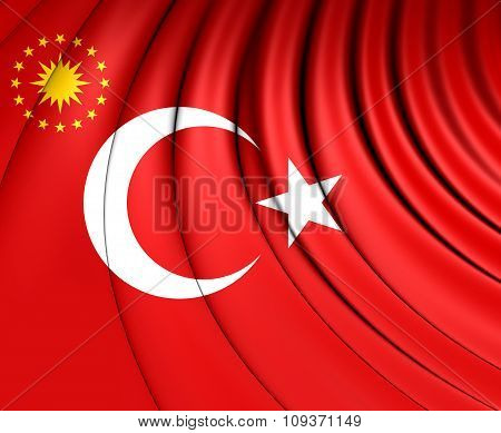 Presidential Standard Of Turkey