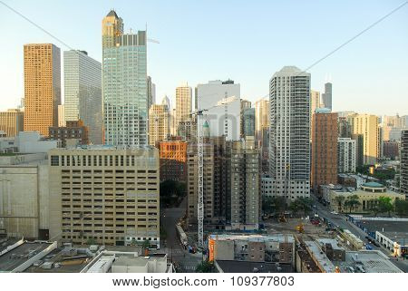 Chicago Skyline View