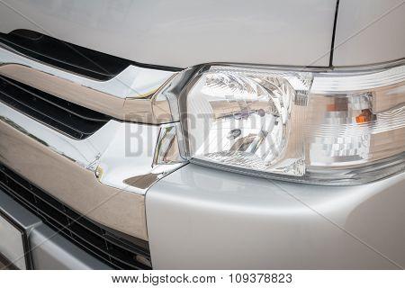Old Vehicle Headlight