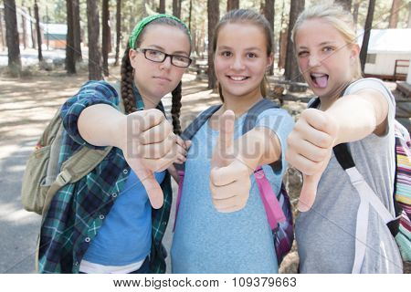 Girls Thumbs