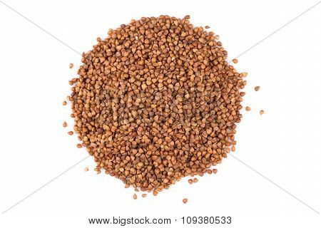Pile Of Buckwheat Seeds