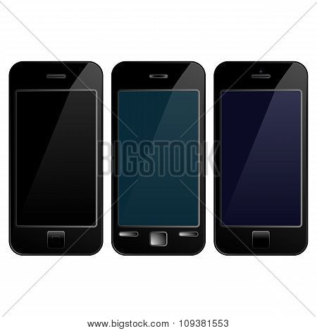 Black Mobile Phone Smartphone