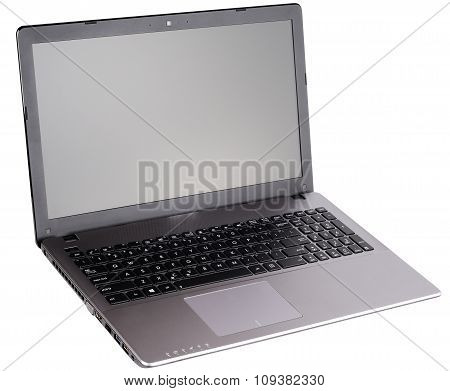 Open Laptop Isometric View