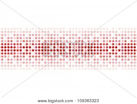 Abstract red shiny circles background. Vector design