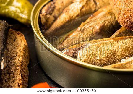 Canned Smoked Sardines