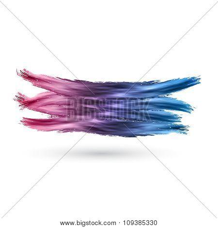 Vector Bright splashes