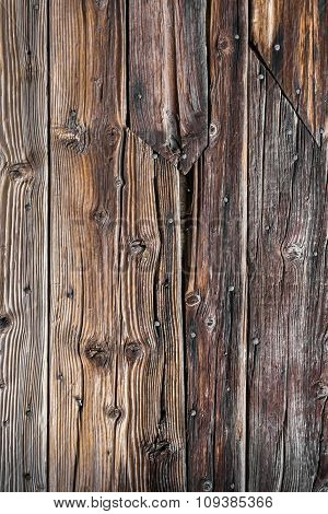 Rotten Planks With Nails
