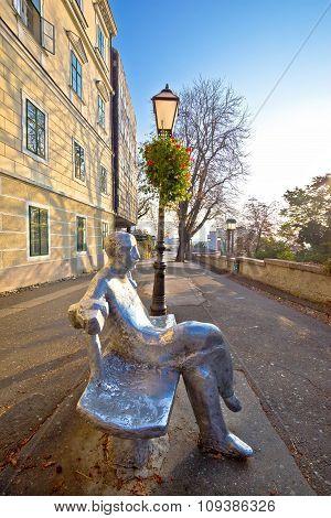 Scenic Zagreb Upper Town Walkway