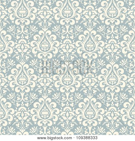 Seamless vector background  in the Victorian style