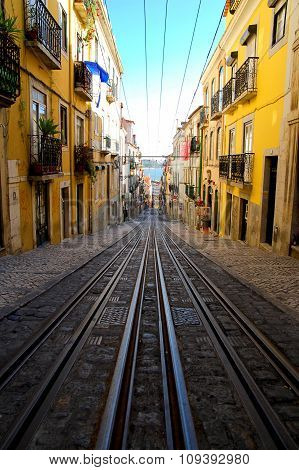Lisboa Historical Cable Car tramway