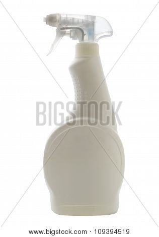White Plastic Spray Bottle