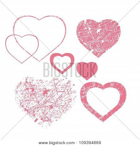 Pink Hearts Collection