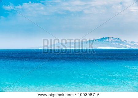 Sea Ocean And Sky Background, Cloudscape