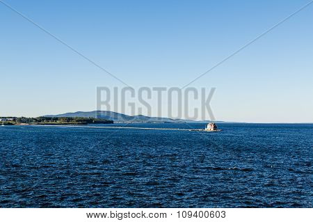 Lighthouse On Long Pier
