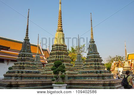 Wat Pho At Bangkok