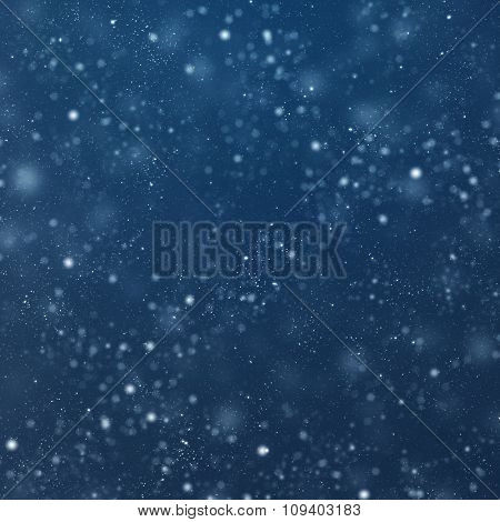 White defocused lights background. abstract bokeh lights