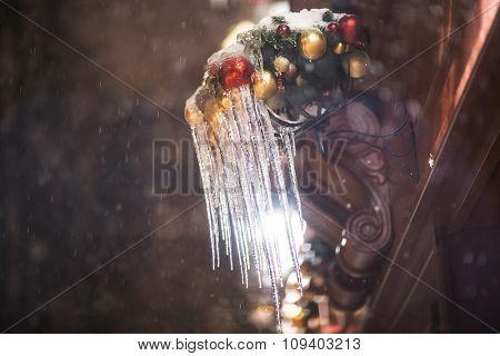 Christmas icicle