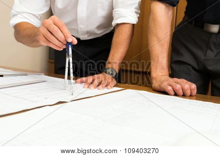 Designers at work in their office