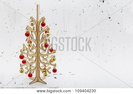 Christmas Decorative Tree Figurine