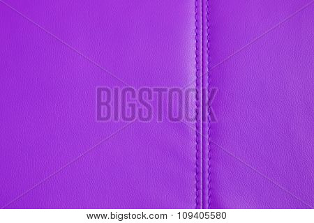 Background Texture Of Purple Artificial Leather